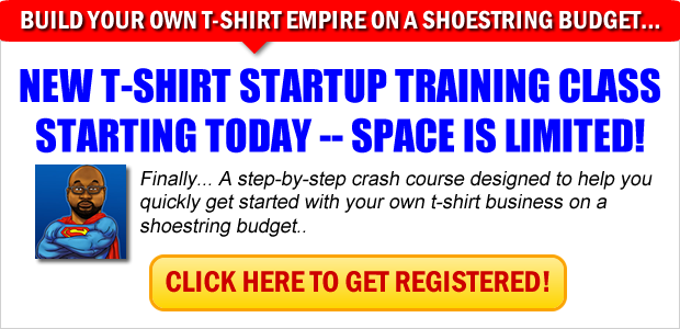 Start T-shirt Training Class
