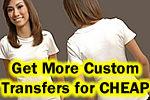How to Make T-shirt Transfers CHEAPER