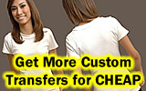 How to Make T-shirt Transfers CHEAPER