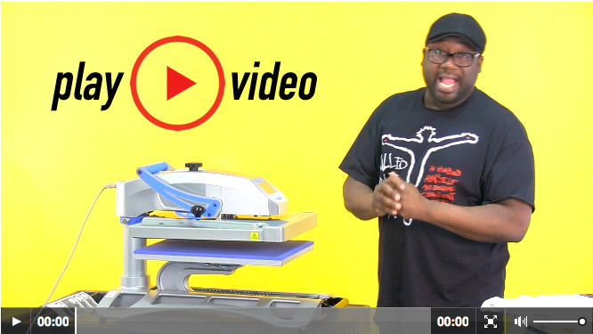 Play Heat Press Video