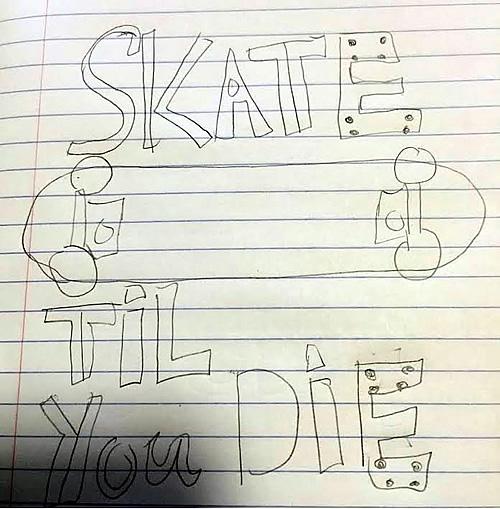 Skate Til You Die